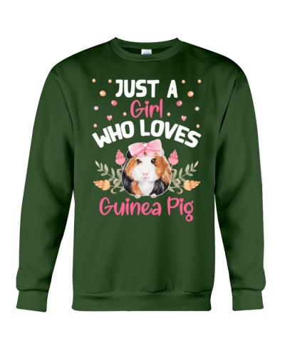 Just A Girl Who Loves Guinea Pig