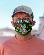 FreeHugs - Just Kidding Don't Touch Me Cloth face mask aos-face-mask-lifestyle-06