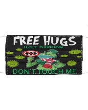 FreeHugs - Just Kidding Don't Touch Me Cloth face mask front