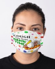 Cough One More Damn Time Cloth face mask aos-face-mask-lifestyle-01