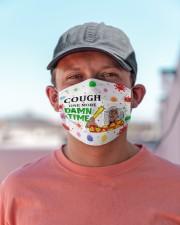 Cough One More Damn Time Cloth face mask aos-face-mask-lifestyle-06