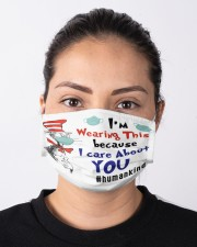 I Care About You Mask Cloth face mask aos-face-mask-lifestyle-01
