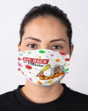 6ft Back Or 6ftUnder - Color Cloth face mask aos-face-mask-lifestyle-01