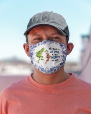 All I Need Is My Dog - It's Too Peopley Outside Cloth face mask aos-face-mask-lifestyle-06