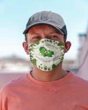 Do Not Care Bear When 4:20 Hits You Cloth face mask aos-face-mask-lifestyle-06