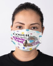 Cough One More Damn Time - Purple Cloth face mask aos-face-mask-lifestyle-01