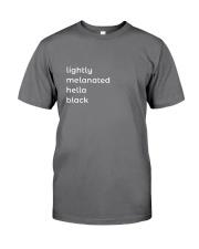 Lightly Melanated Hella Black Premium Fit Mens Tee thumbnail