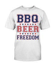 BBQ BEER FREEDOM Classic T-Shirt tile