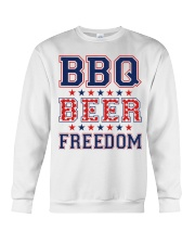 BBQ BEER FREEDOM Crewneck Sweatshirt thumbnail