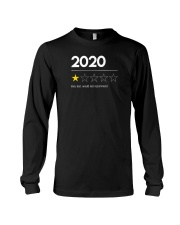 2020 Very Bad Would Not Recommend Long Sleeve Tee thumbnail