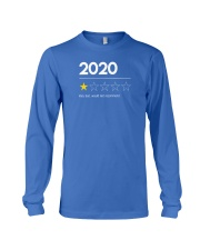 2020 Very Bad Would Not Recommend Long Sleeve Tee front
