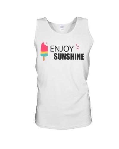 enjoy sunshine - summer t-shirt gift for family
