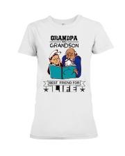 Grandpa and Grandson Premium Fit Ladies Tee thumbnail