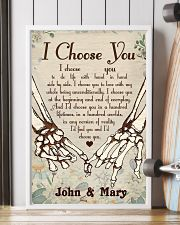 Skull - I Choose You Poster 11x17 Poster lifestyle-poster-4