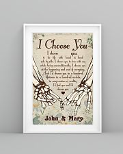 Skull - I Choose You Poster 11x17 Poster lifestyle-poster-5