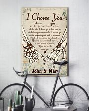 Skull - I Choose You Poster 11x17 Poster lifestyle-poster-7