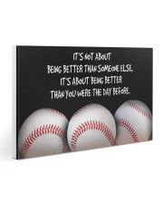 Baseball Being Better 30x20 Gallery Wrapped Canvas Prints thumbnail