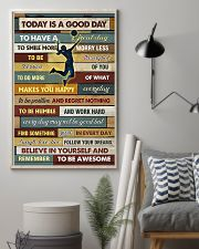 Volleyball - To Day Is Good Day 11x17 Poster lifestyle-poster-1