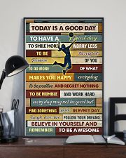 Volleyball - To Day Is Good Day 11x17 Poster lifestyle-poster-2