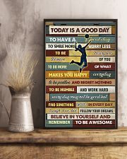 Volleyball - To Day Is Good Day 11x17 Poster lifestyle-poster-3