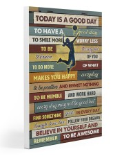 Volleyball - To Day Is Good Day Gallery Wrapped Canvas Prints tile