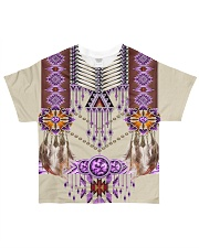Native American Pink All-over T-Shirt front