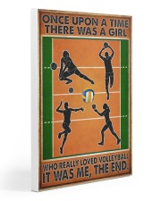 Volleyball - Once Upon A Time Gallery Wrapped Canvas Prints tile