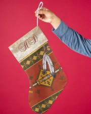 Feather Native Stocking Christmas Stocking aos-christmas-stocking-lifestyles-01