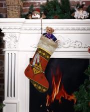 Feather Native Stocking Christmas Stocking aos-christmas-stocking-lifestyles-06