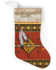 Feather Native Stocking Christmas Stocking back