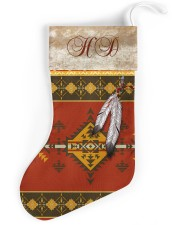 Feather Native Stocking Christmas Stocking front
