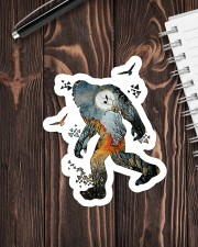 Sticker - Bigfoot - Earth Colored Sticker - Single (Vertical) aos-sticker-single-vertical-lifestyle-front-05