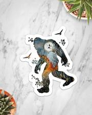 Sticker - Bigfoot - Earth Colored Sticker - Single (Vertical) aos-sticker-single-vertical-lifestyle-front-06