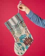 Native American Pattern Christmas Stocking aos-christmas-stocking-lifestyles-01