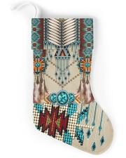 Native American Pattern Christmas Stocking back