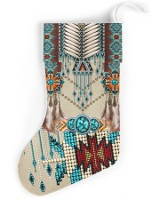 Native American Pattern Christmas Stocking front