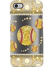 Softball - Gold Phonecase Phone Case tile