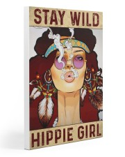 Stay Wild Hippie Girl 20x30 Gallery Wrapped Canvas Prints front