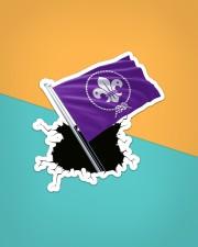 Scout Flag Crack St Sticker - Single (Vertical) aos-sticker-single-vertical-lifestyle-front-02