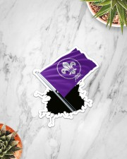 Scout Flag Crack St Sticker - Single (Vertical) aos-sticker-single-vertical-lifestyle-front-06