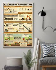 Excavator Knowlege  11x17 Poster lifestyle-poster-1