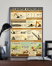 Excavator Knowlege  11x17 Poster lifestyle-poster-2