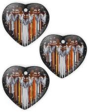 Native Ornament Heart ornament - 3 pieces (wood) thumbnail
