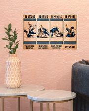 Jiu Jitsu - Be Strong 17x11 Poster poster-landscape-17x11-lifestyle-21