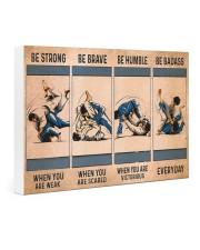 Jiu Jitsu - Be Strong Gallery Wrapped Canvas Prints tile