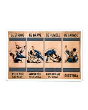 Jiu Jitsu - Be Strong Sticker tile