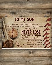 Baseball - To My Son 17x11 Poster poster-landscape-17x11-lifestyle-14