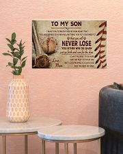 Baseball - To My Son 17x11 Poster poster-landscape-17x11-lifestyle-21