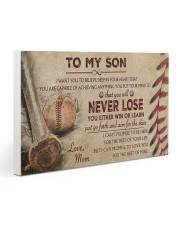 Baseball - To My Son 30x20 Gallery Wrapped Canvas Prints thumbnail