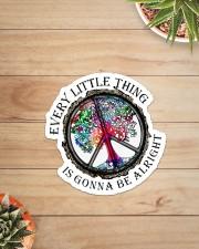 Hippie - Every Little Thing  Sticker - Single (Vertical) aos-sticker-single-vertical-lifestyle-front-07